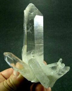 Multiple Point Natural Brazilian Quartz Cluster 4""