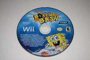 SpongeBob-039-s-Boating-Bash-Nintendo-Wii-Video-Game-Disc-Only