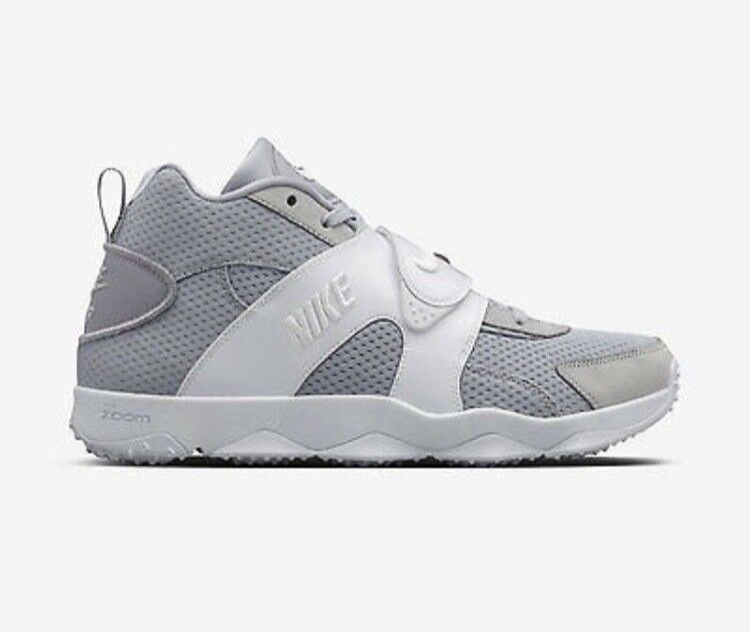 Nike Zoom Veer Mens Football Training Shoes 10.5 Wolf Grey White 844675 011