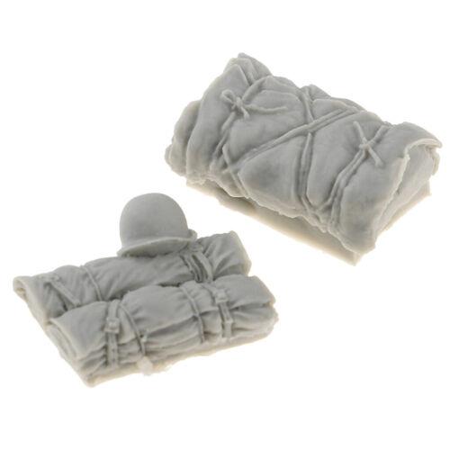 1//35 Mini Soldier Package Hat Modell Resin für Sand Table Battle Scene