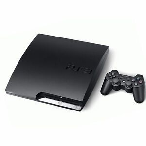 Sony-PlayStation-3-Slim-160GB-Charcoal-Black-Console-CECH-2501A