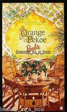 Orange Pekoe Victorian Tea Porcelain Barbie Doll COA ~ NRFB