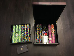 New-Paulson-Copaq-President-casino-chips-set-New-Yorker-1000-500-100-25-5