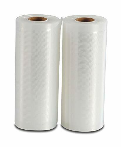 Vakuumierfolie 2 Rollen 15x600 cm Tiefkühlen//Vakuumgaren Individuell Zuschneiden