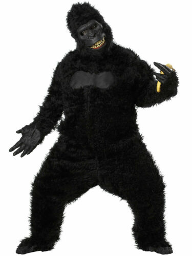 Mens Goin/' Ape Costume Adult Halloween King Kong Monkey Gorilla Fancy Dress Stag