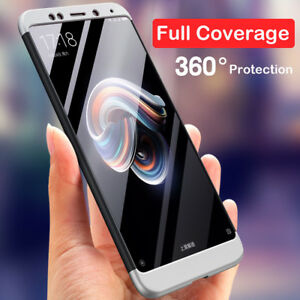 new style 7c28b e26b7 Details about For Xiaomi Redmi Note 5 Pro Shockproof 360° Full Cover 3In1  Protect Hybrid Case