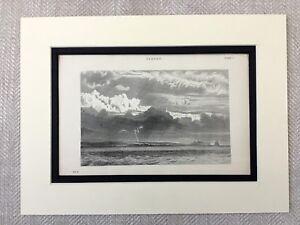 1880-Antique-Meteorology-Print-Clouds-Cloudy-Storm-Landscape-Cloud-Types
