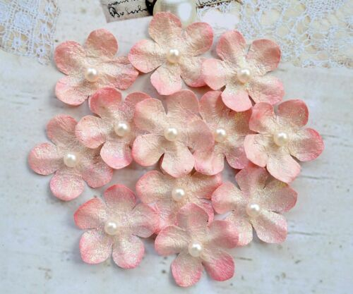Handmade Card Making Embellishment Crafts Handcrafted Floral Decorations