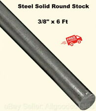 Steel Solid Round Stock 38 X 6 Ft Unpolished Cold Finish Rod Alloy 1018