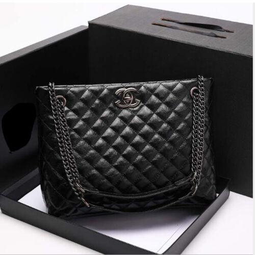 Fashion Designer Large OL Women Shoulder Bags Lambskin Chain bags Handbag Totes