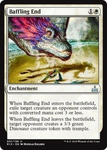 4 x Baffling End - Rivals of Ixalan 001//196 Uncommon