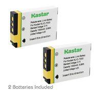 2x Kastar Battery For Kodak Klic-7003 Easyshare M380 M420 V1003 Z950 Ge E1030