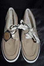 Converse Chucks One Star Men's Size US 8.5 Tan Lace Boat Deck Oxford Shoes