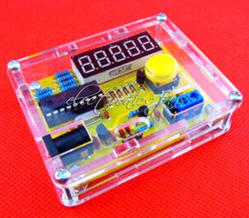 Schale Neu DIY Kits 1Hz-50MHz Kristall Oszillator Tester Frequenz Zähler Meter