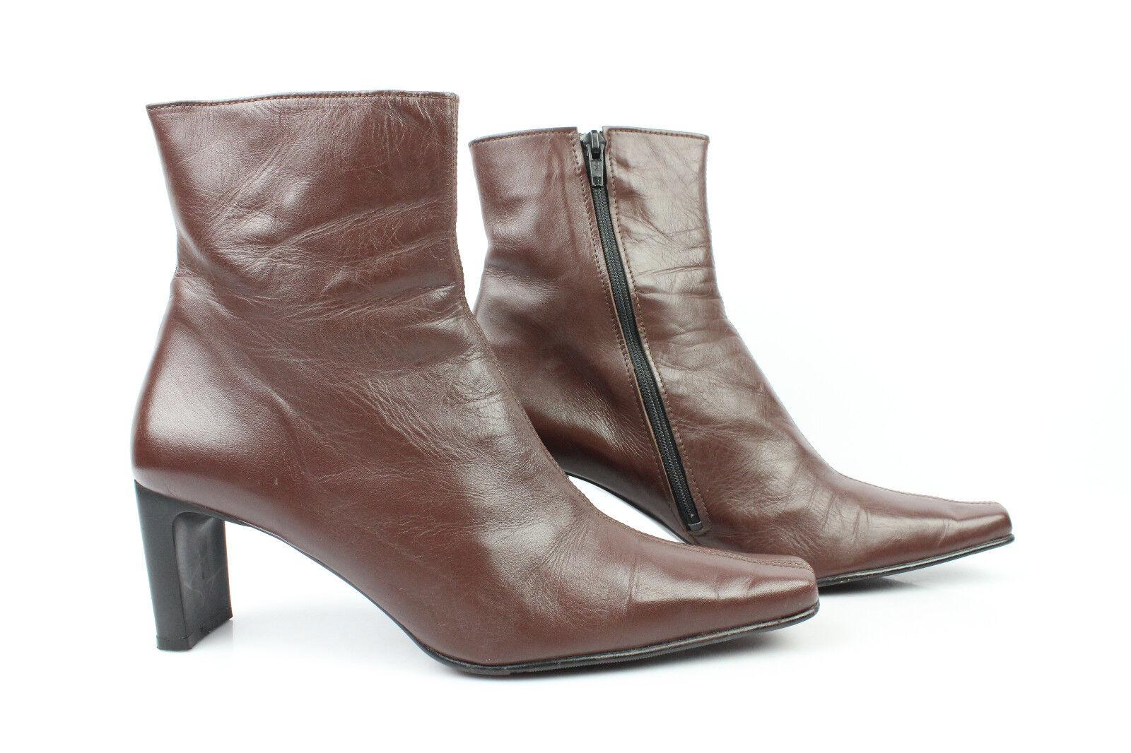 Stivali JACKSON Schuhe Britannico OTTIME Stile Pelle Marrone 41 T 41 Marrone b1d9a3