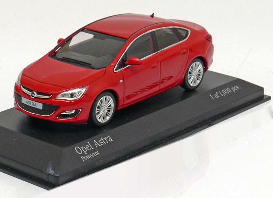 OPEL ASTRA POWErouge 2012 MINICHAMPS 410042001 1 43 rouge rouge rouge SEDAN SALOON