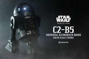 Star Wars Sideshow Collectibles Rogue One C2-B5 Imperial Droid 1 6 Figure