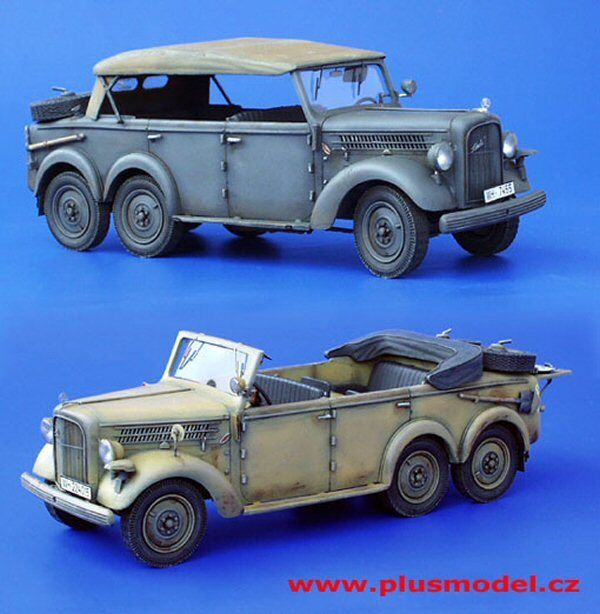 Plus Model 105 Skoda TYPE 903 Staff Car Complete Kit 1 35 scale resin model kit