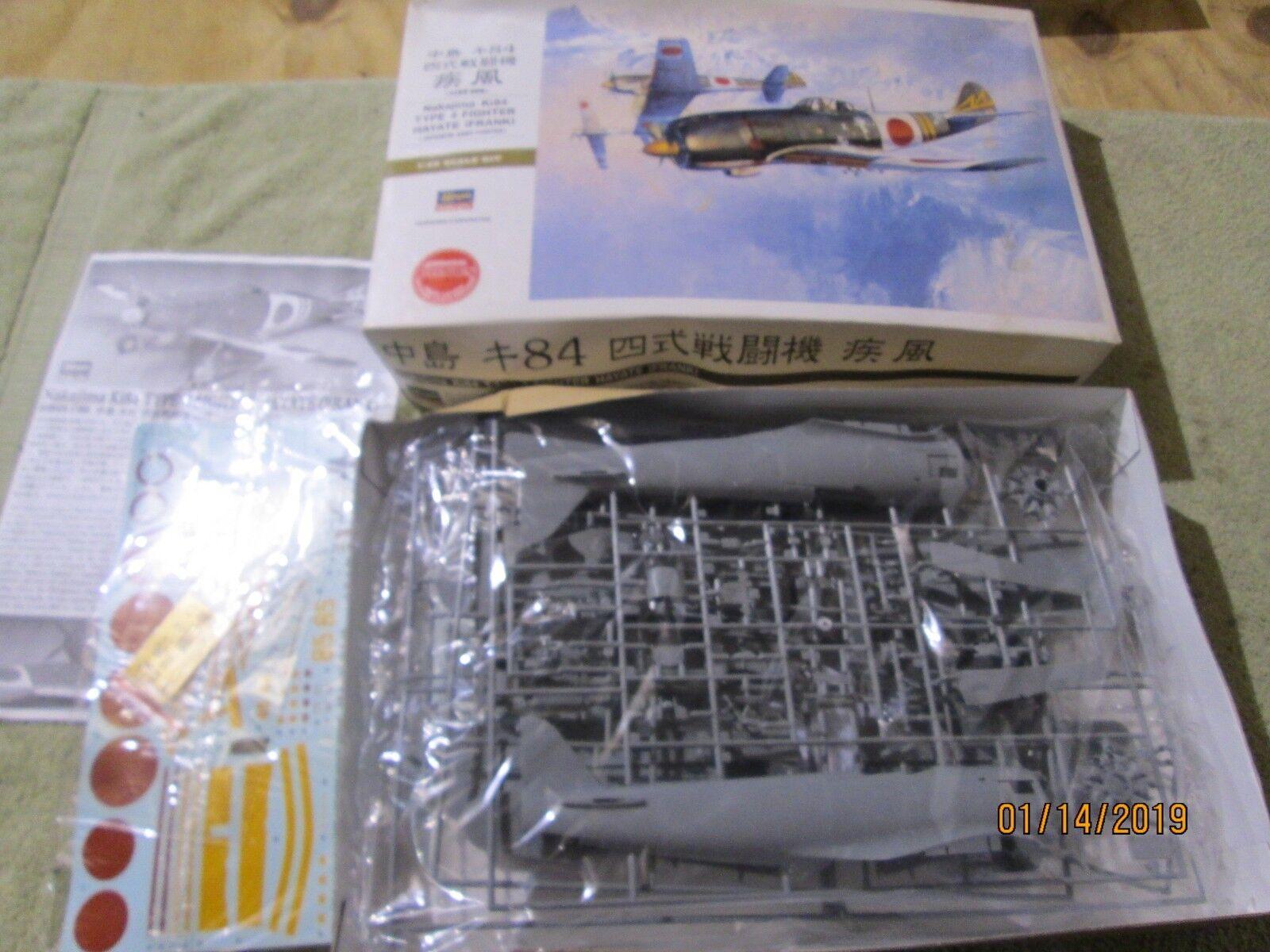 Hasegawa (08074) 1 32 Nakajima Ki84 Type 4 Fighter