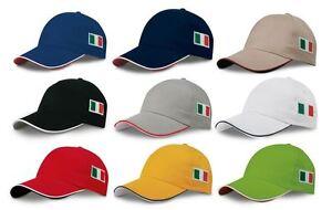 Bandiera Stock Visiera Ricamo Italia Rigida Italiana 50 Pezzi Tricolore Cappello gCf4qg