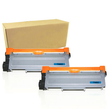 2-Pack New Compatible Brother TN-660 Toner Cartridge
