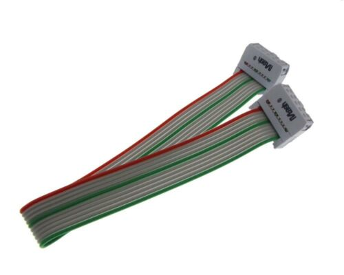 2x5P 10-Pin IDC Cable 20cm RGG