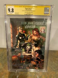Super-Sons-1-CGC-SS-9-8-Virgin-Variant-Signed-by-Tyler-Kirkman-amp-Peter-Tomasi