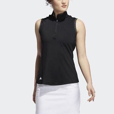 Adidas Golf Ultimate365 Space Dye Sleeveless Polo Women's Shirt