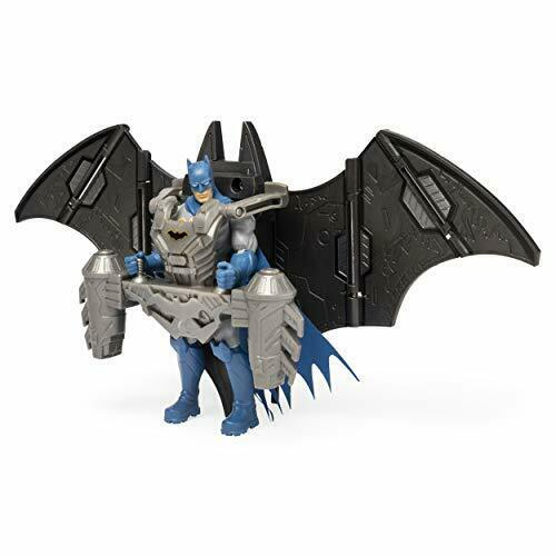 BATMAN 4-Inch Mega Gear Deluxe Action Figure w//h Transforming Armor Kid Toy Gift