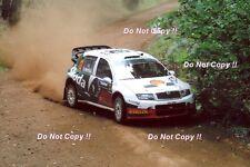 Colin McRae Skoda Fabia WRC Rally Australia 2005 Photograph 2