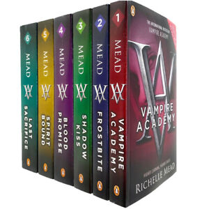 Vampire-Academy-Series-Books-1-6-Collection-Set-by-Richelle-Mead-Paperback-NEW