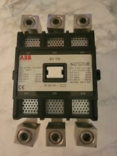 Eh 175 30 22as Abb Eh Series Contactor 150hp Max 185a 480v Coil