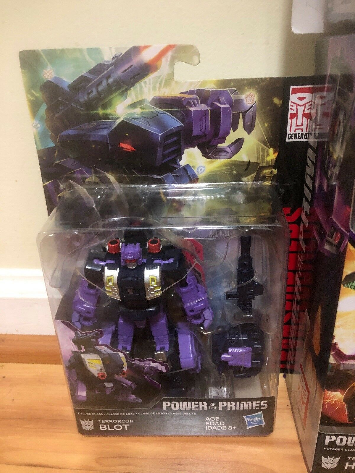New Transformer Hasbro Power Of Primes Primes Primes Abominus Combiner 5pcs Set Collection eceab0