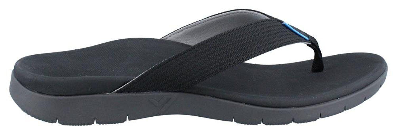 Mens Vionic Islander Sport Orthotic Arch Support Flip Flops Sandals UK8   EU42