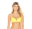 BEACH BUNNY WOMENS SWIMWEAR YELLOW Dylan Underwire Top