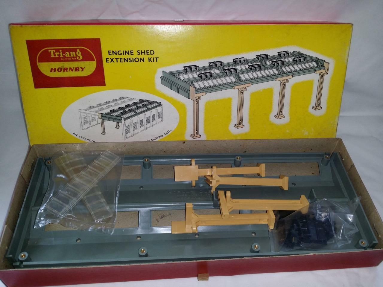 TRIANG HORNBY   HORNBY DUBLO 5006 ENGINE ENGINE ENGINE SHED EXTENSION KIT nuovo UNUSED EX negozio 10e4a0