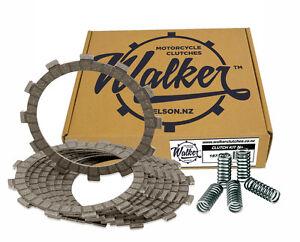 Walker Clutch Friction Plates & Springs for Kawasaki KLR650 A1-A3 87-89