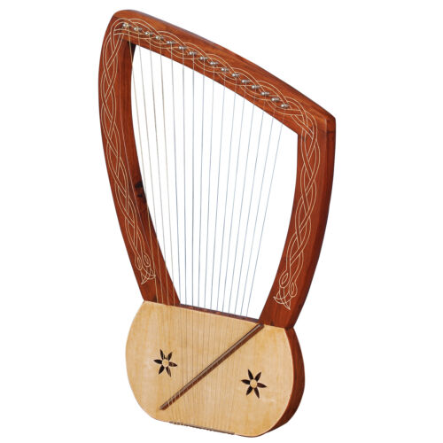Neue Heartland 16-Saiten-Lyra-Harfe Palisander 16-Saiten-Lyre-Harfe Lyre-Harfe