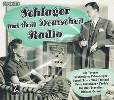 Schlager a. d. Deutschen Radio -2 CD NEU Bruce Low Heidesänger Teddies Paul Kuhn
