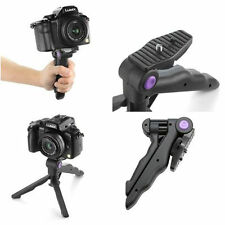 Portable Folding Handheld 2in1 Mini Tripod Stand For Digital Camera Camcorder WN
