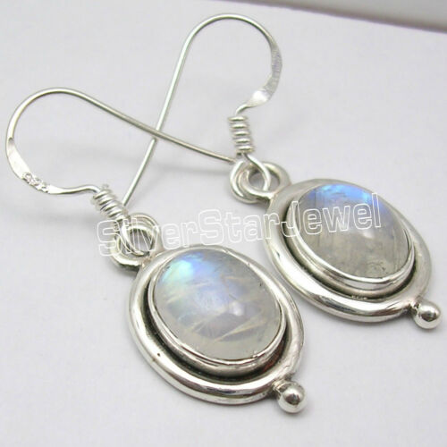 925 Silver Dangle Earrings CHALCEDONY /& Many Other Gemstones Variation To Choose