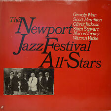 "THE NEWPORT JAZZ FESTIVAL ALL-STARS - SCOTT HAMILTON 12"" 2 LP (P316)"