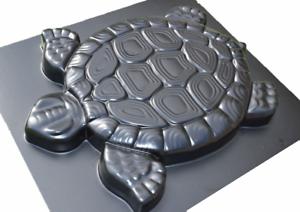 Schalungsform Gießform Betonform Plastikformen für Beton Schildkröte Gehweg #S02