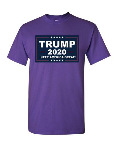 T-Shirt MAGA Republican Political Mens Tee Shirt TRUMP 2020 Keep America Great