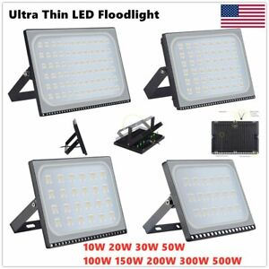 LED Flood Lights 300W 200W 100W Garden Landscape Path Spot Lamp Outdoor Lighting