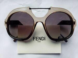 S está cargando Crystal Ff0316 Black Women La imagen Fendi Sunglasses Mng90 xU5q70pw