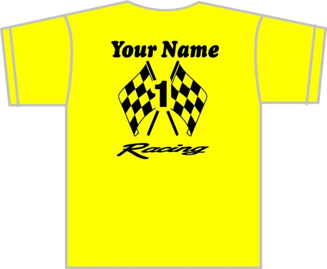 Custom Racing Team Shirts Stock Car, Sprint, IMCA Modified, Dirt Late Model, MX