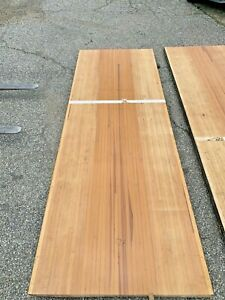 """Reclaimed Bowling Alley Lane Sections Maple & Pine 2.5"""" X 42"""" W   Project Wood"""