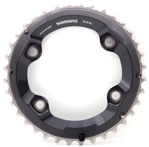 Shimano XT M8000 Chainring-Fit M7000/&M9000-96MM* 32T,34T,36T,38T-11 Speed-28//26t