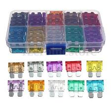 100Pcs Standard Car Auto Blade Fuse Assortment Kit 2A-35A Set with Box (16)